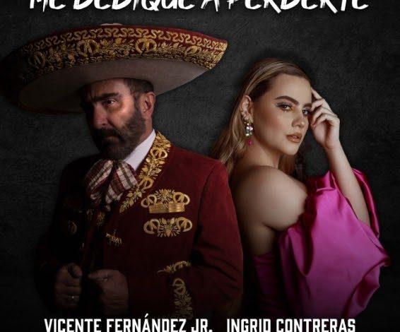 "Ingrid Contreras y Vicente Fernández Jr: ""Me dediqué a perderte"""